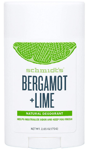 Déodorant Stick Signature Bergamote et Citron Vert Schmidt's
