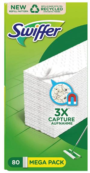Recharges Lingettes Sèches pour Balai Attrape-Poussière Swiffer