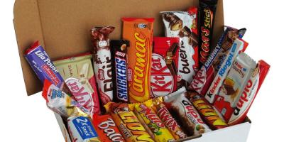 assortiment de barre au chocolat 20 pieces