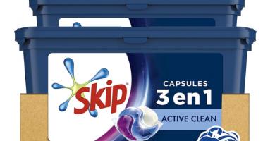 lessive capsules 3 en 1 skip
