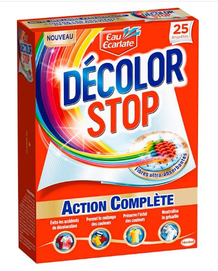 25 Lingettes Anti-Décoloration Décolor Stop