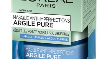 masque anti imperfections pour le visage loreal paris