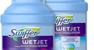 Nettoyant Sol pour Balai Spray Swiffer WetJet