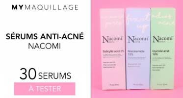 serums anti acne nacomi