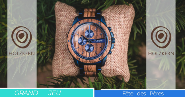 concours montres holzkern offertes