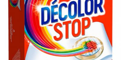 lingettes anti decoloration decolor stop