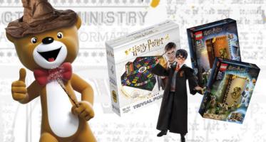 lots jouets harry potter offerts