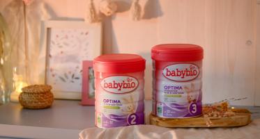 packs lait infantile optima babybio