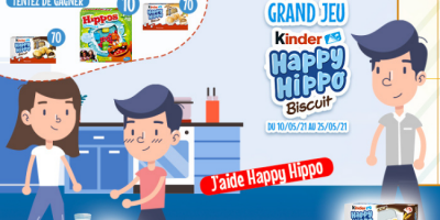 paquets kinder happy hippo offerts