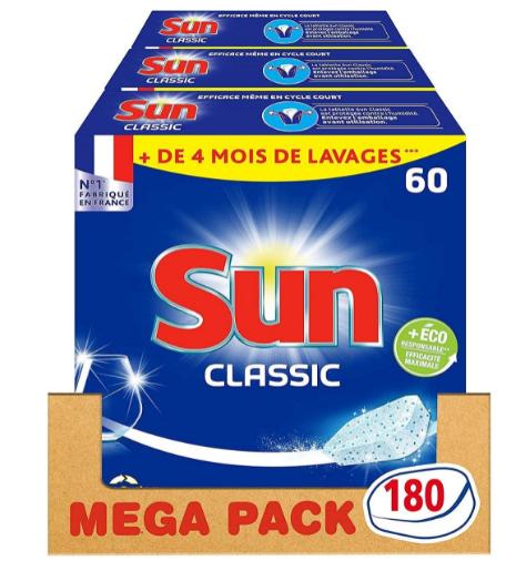 tablettes lave vaisselle sun