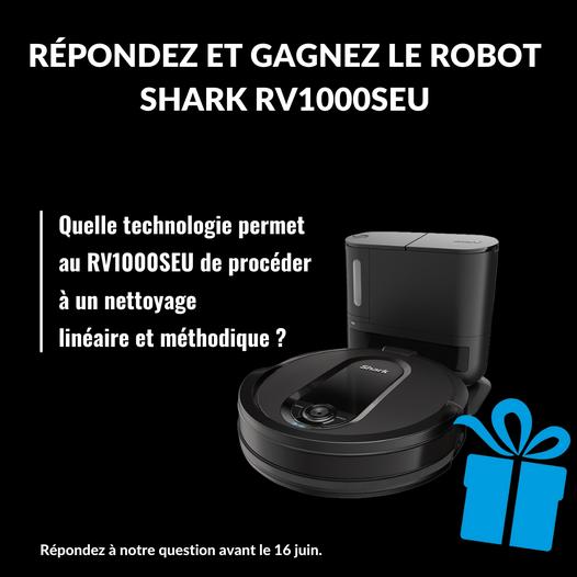 aspirateur robot shark