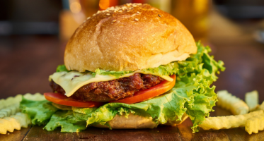 burgers au fromage offerts