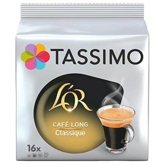 dosettes cafe tassimo lor classique