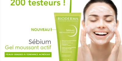 gels moussants actifs bioderma