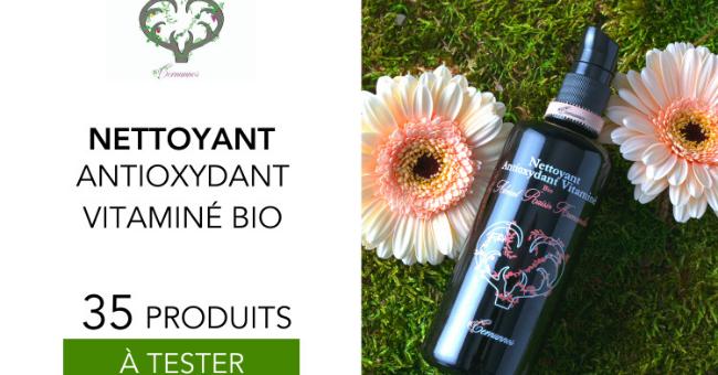 nettoyant antioxydant vitamine bio