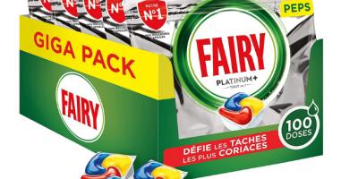 pastilles lave vaisselle fairy platinum