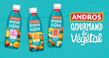 test andros gourmand vegetal