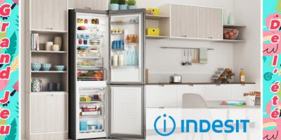 refrigerateur indesit offert