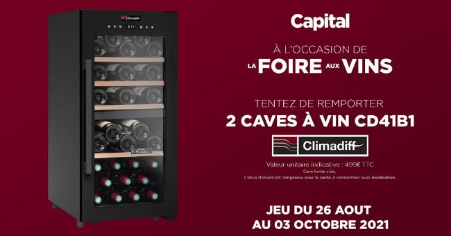 cave a vin offert