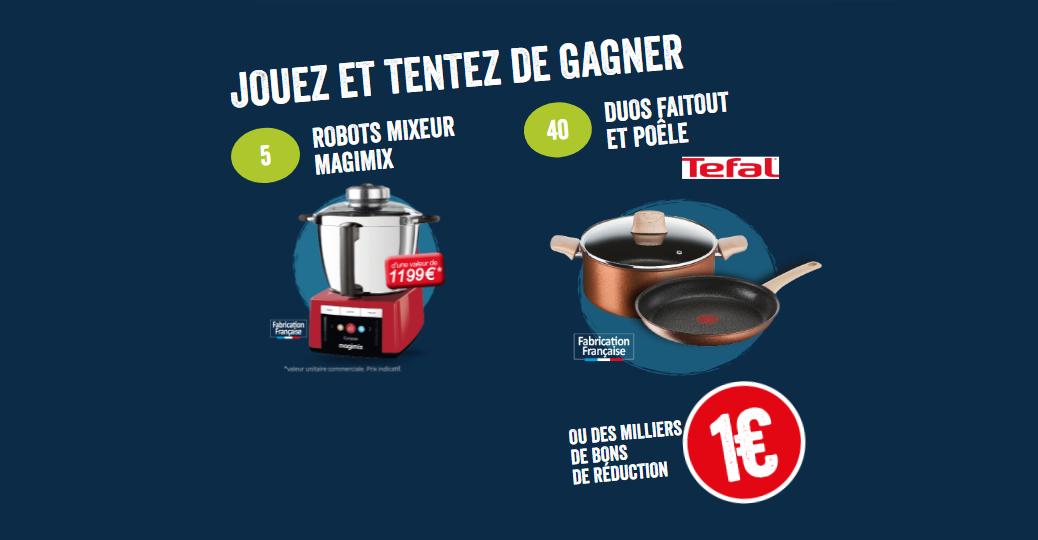 le gaulois jeu concours cook expert magimix duos tefal