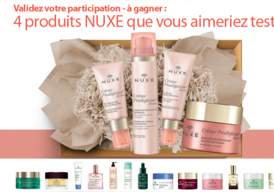nuxe tester concours