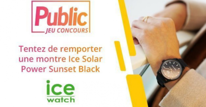 concours ice watch