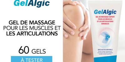 testez gel massage gelalgic