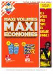 Catalogue Leader Price – Maxi volumes maxi economies