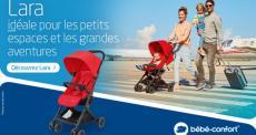 10 poussettes Lara de BÉBÉ CONFORT offertes