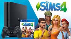 Une PS4 Slim + Les Sims 4 à gagner