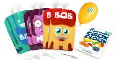 6 gourdes réutilisables Yummy Monsters à moitié prix SEULEMENT