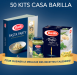 50 kits Casa Barilla à gagner!
