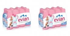 200 Packs d'eau pour bébé Evian gratuits