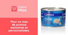 Gratuit : Boîte de thon Albacore Casino au Naturel