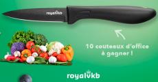 Tentez de remporter 10 couteaux de cuisine Royal VKB 0 (0)