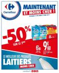 Catalogue Carrefour – Le meilleur des produits laitiers