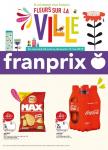 Catalogue Franprix – Fleurs sur la ville