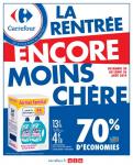 Catalogue Carrefour – La rentrée encore moins chère