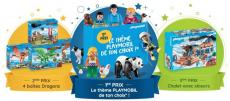 Concours Hugo l'escargot : Playmobil à gagner