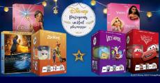 25 coffrets DVD Disney + des mini peluches Tsum-Tsum en cadeau