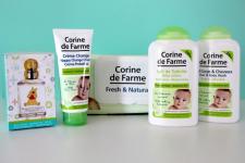 ÉCHANTILLONS GRATUITS des soins bébé Corine de Farme 0 (0)