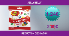 Shopmium réduction jusqu'à -50% sur l'article Jelly Belly