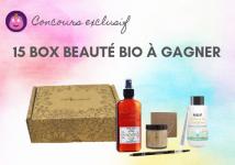 15 Box Beauté Bio à remporter