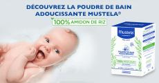 30 poudres de bain Mustela offertes