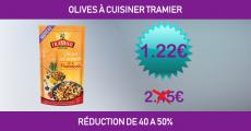 Shopmium réduction de 50% sur les Olives Tramier à cuisiner 0 (0)