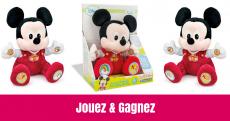 12 peluches Mickey + 8 billets d'entrée au Parc Disney