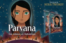 Concours: 10 Blu-Ray du film d'animation « Parvana » à gagner