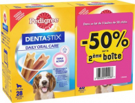 Pedigree Dentastix -0.50€ DE RÉDUCTION