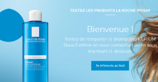 500 shampoings Kerium La Roche Posay gratuits 0 (0)