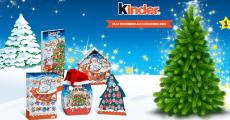Votre sapin de Noël gratuit avec Kinder